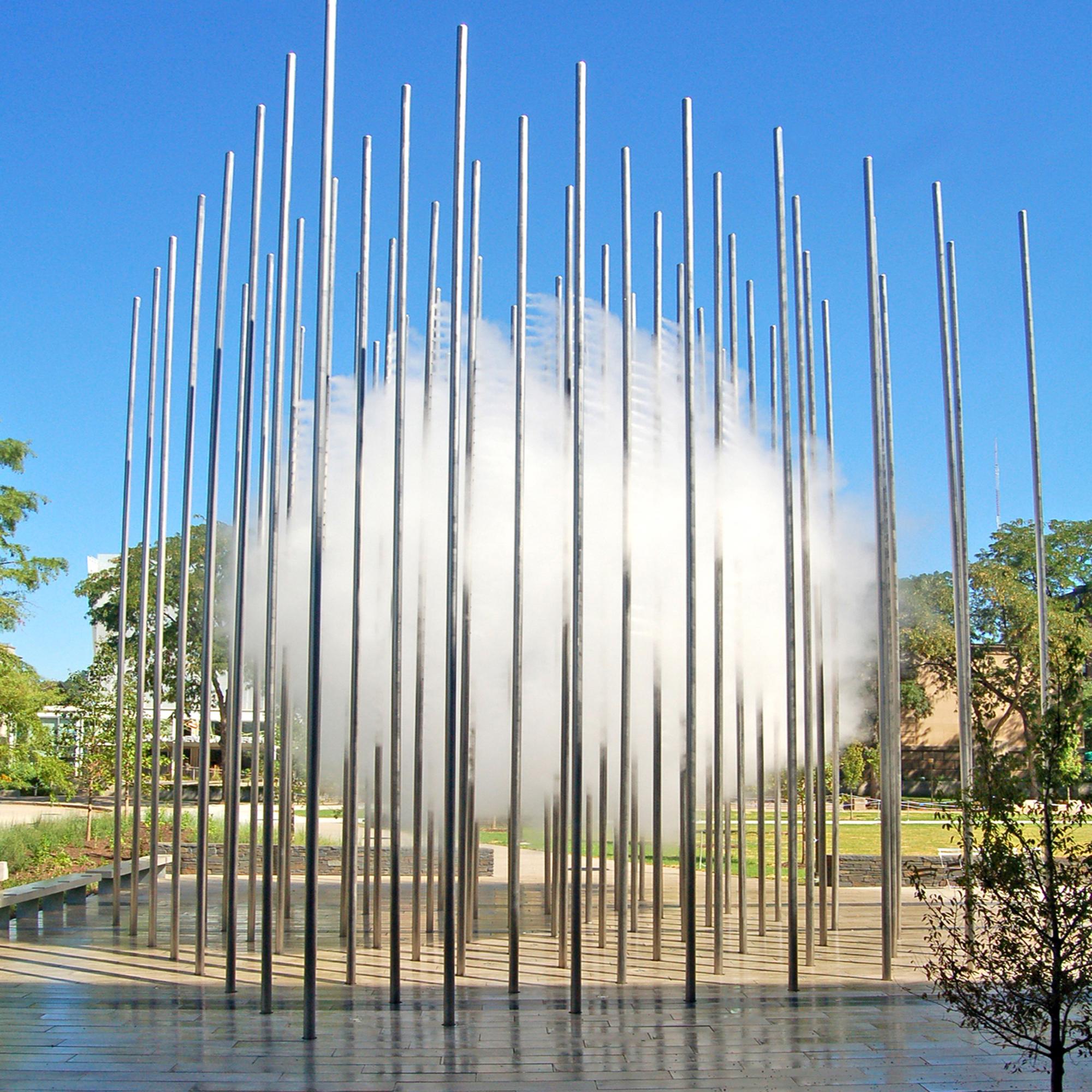 Water Art Structures : Project cloud arbor codaworx