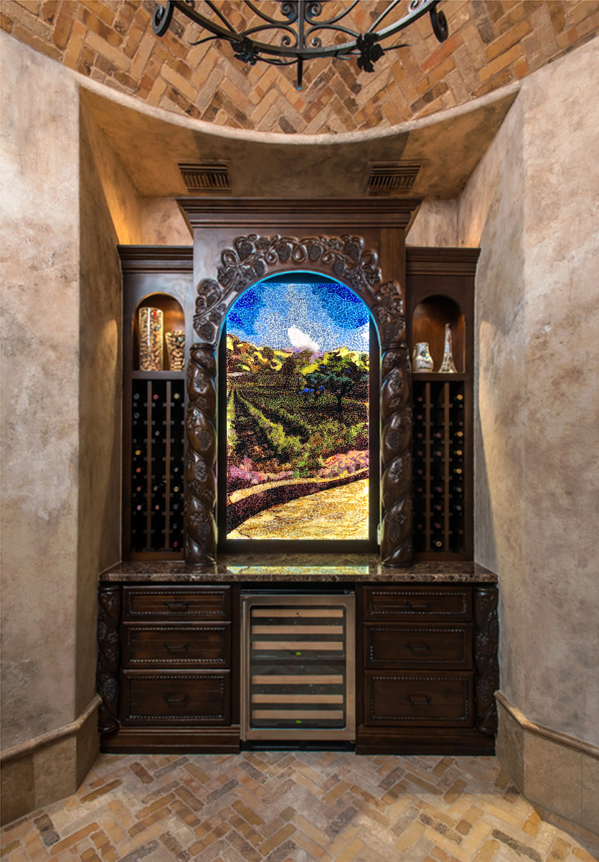 Project illuminated wine grotto codaworx for Wine grotto design