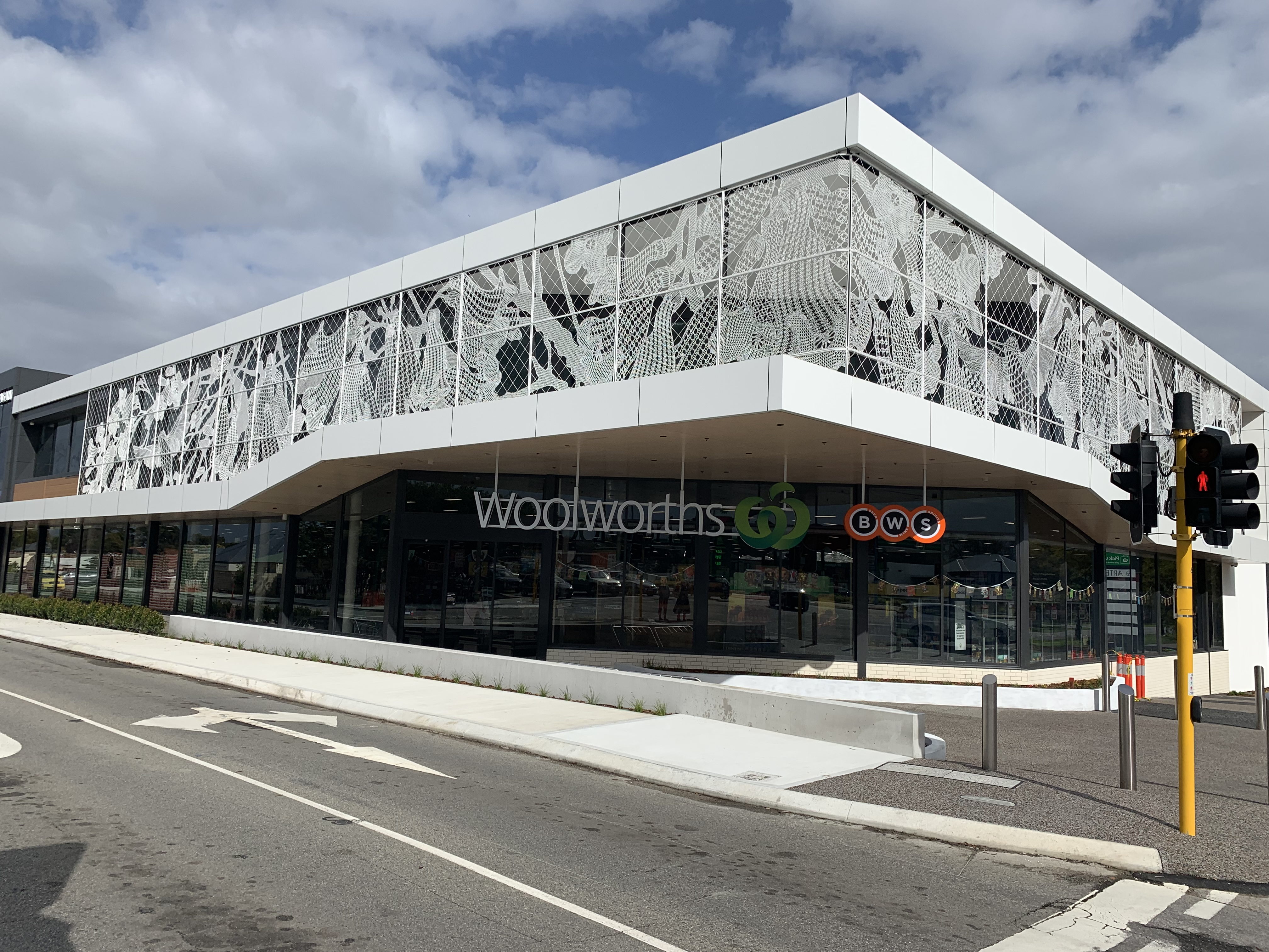 Mount Pleasant Woolworths Lacefence