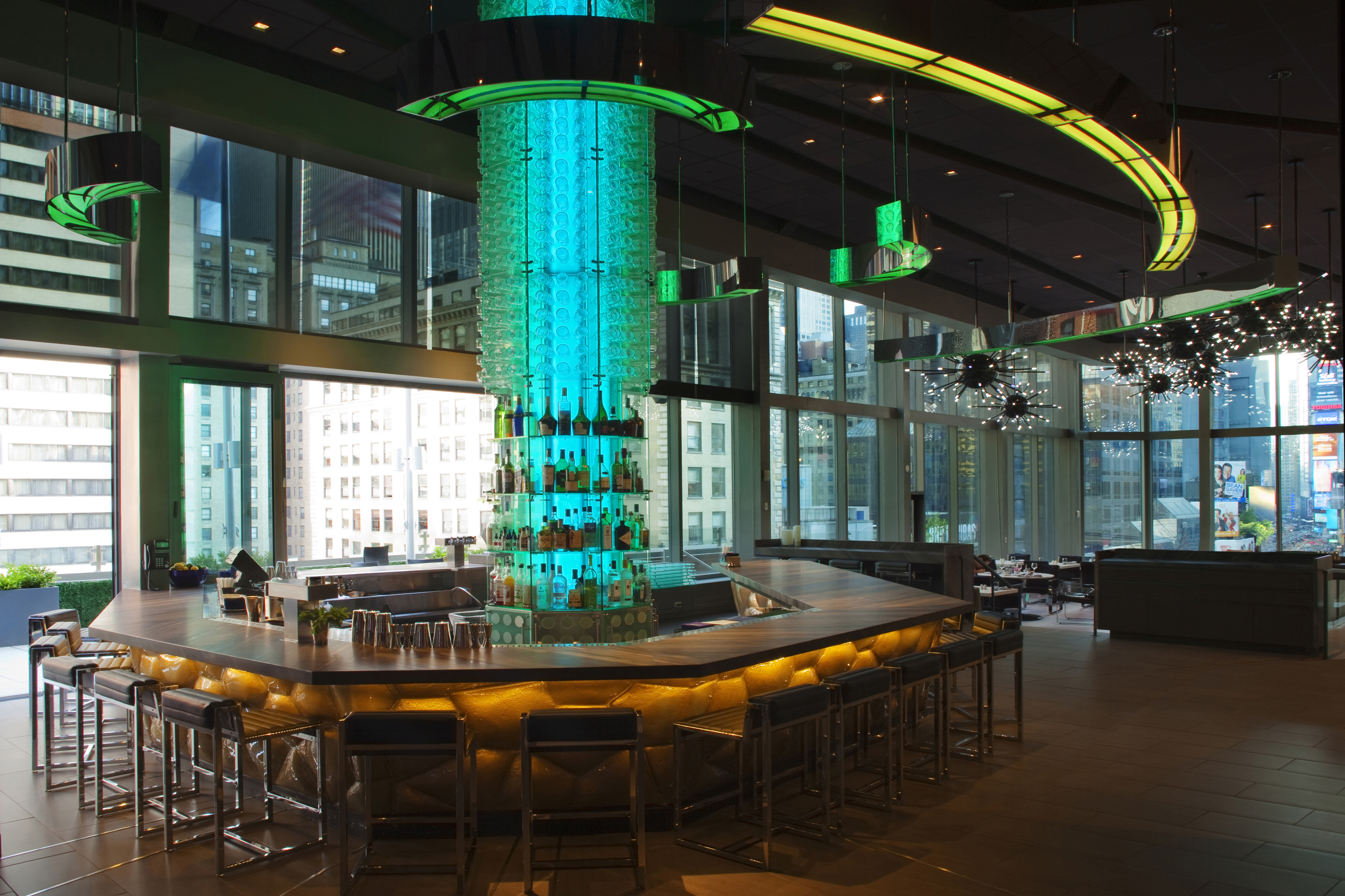 Supernova Bar at the Hotel Novotel New York Times Square