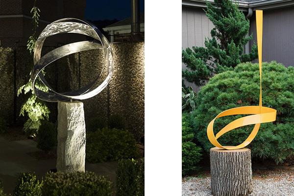 Joe Gitterman sculptures