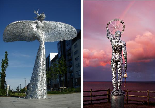 Andy Scott sculptures