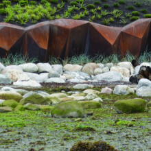 Metamorphous - A Corten Steel Seawall Sculpture and Foreshore Development