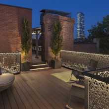 Rooftop Railing Screens