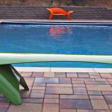 Residential Pool Sculptural Seating