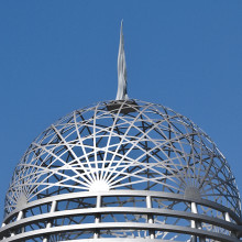Woven Dome and Spire