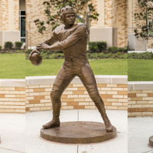 The Parrish Sculptures at TCU