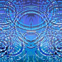 Miami Springs Aquatic Center - Ceramic Tile Murals