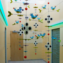 Bluebird Atrium East Tennessee Children's Hospital