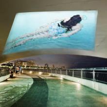 SUBMERGE Public Art Video Installation
