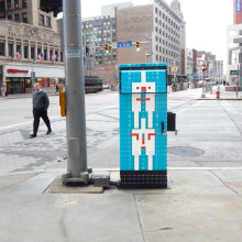 Citizens Artbox – Downtown Cleveland Public Art Installation