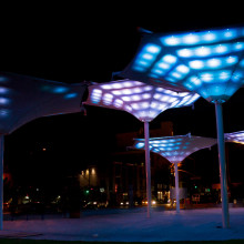 Interactive Lighting Installation