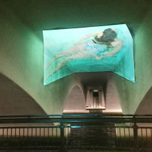 Submerge, Public Art Video Installation
