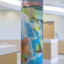 Nemours DuPont Children's Hospital Columns
