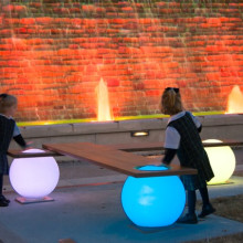 Light Balls Bench