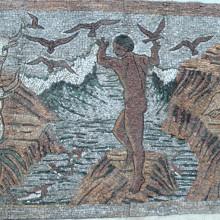 Garden of Eden Stone Mosaic
