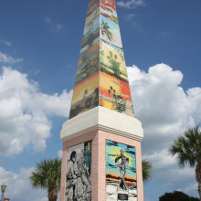 The Florida Highwaymen Obelisk
