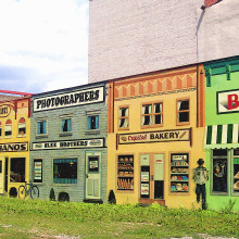 Olde Main Street Mural