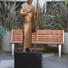St. Jude in Healing Garden, St. Jude Medical Center