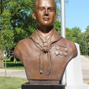Ludington Veterans Mall Monument