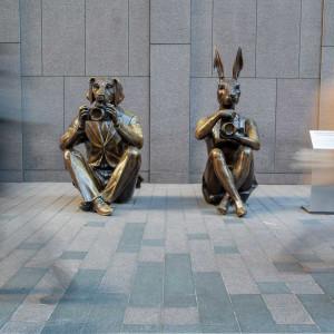 Paparazzi Dogman and Rabbitwoman