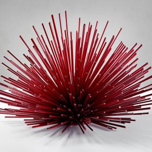 Giant Street Urchin outdoor sculpture