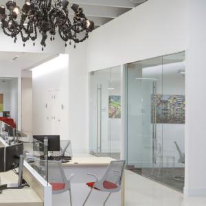 Rosetta Scarf Installation at BankOZK Wynwood