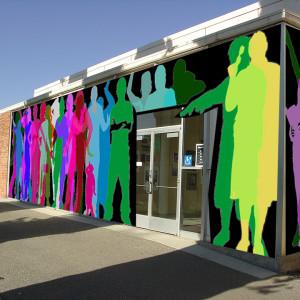 Student Mural at BC
