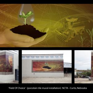 "NCTA Mural ""Field of Choice"""