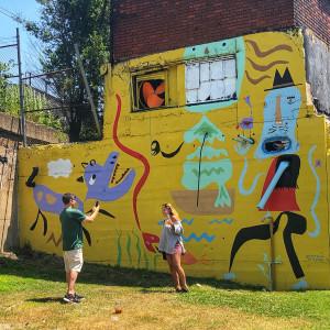 Tyler Village Murals