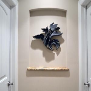 Flight Ornament in Hallway