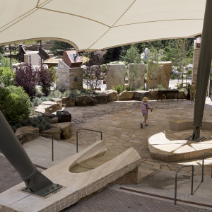 Ford Amphitheater Outdoor Lobby