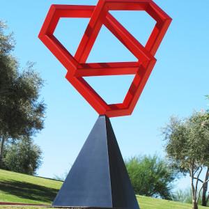 Top Knot public sculpture