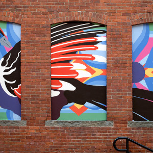 Mural for Post Office Walk Revitalization