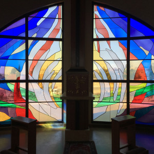 Windows for Mother Cabrini