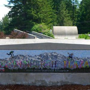 Skatepark Memorial Panel