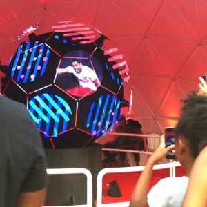 Spherical Hologram
