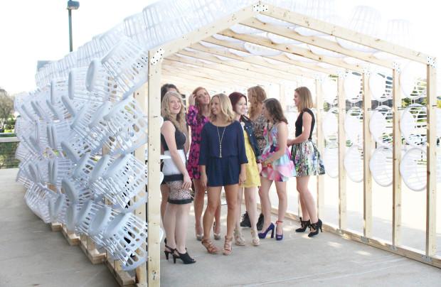 Fashion pop-up pavilion