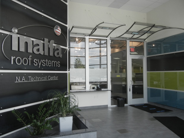 Project Inalfa Roofing Systems Na Technical Center Codaworx