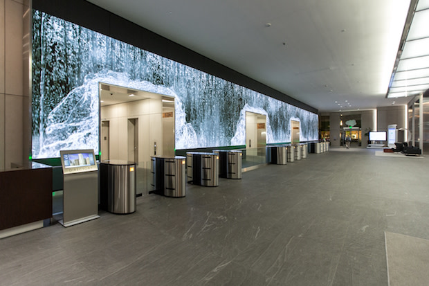 Salesforce Lobby Video Wall