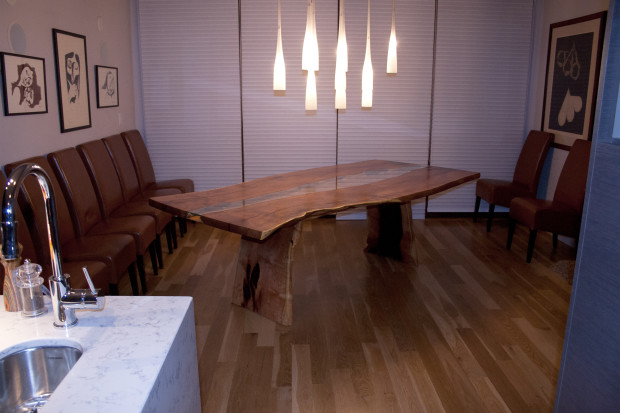 Project Mesquite Slab Dining Table CODAworx