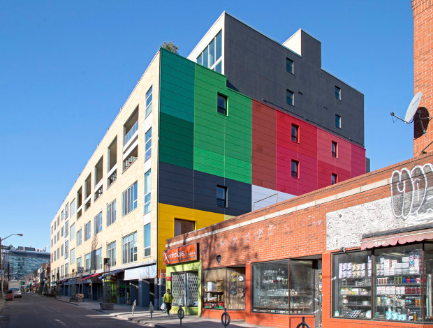 Kensington Market Lofts Facade Revitalization