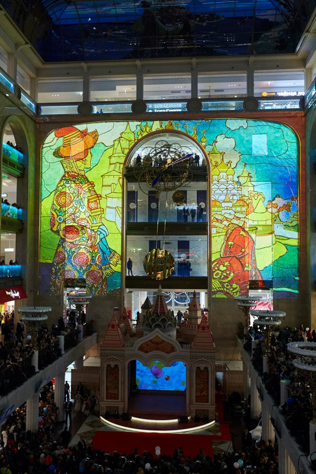 Central Children Store: The Largest Permanent 3D-mapping Installation