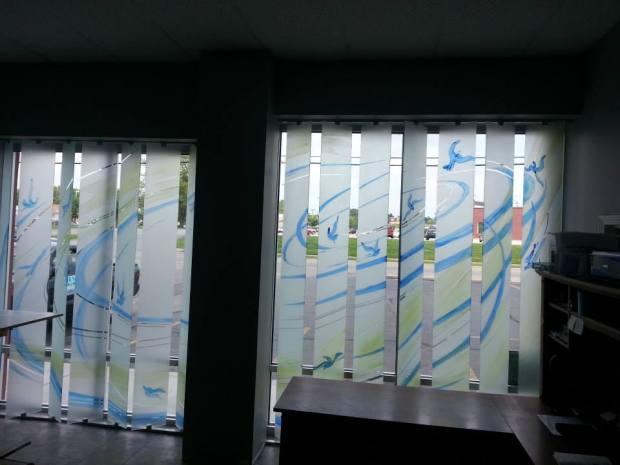 project art glass blinds codaworx