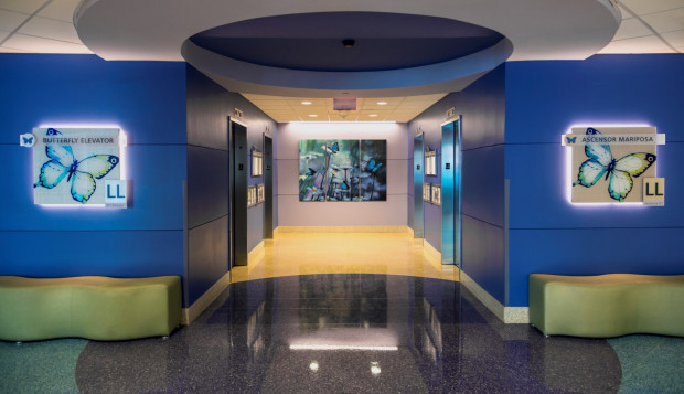 Project Visual Arts For Wayfinding At Children S Medical