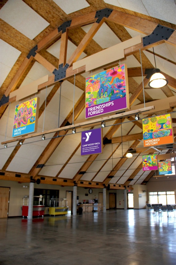 Camp Wood YMCA: When Art Meets Nature on the Tall Grass Prairie - CODAworx
