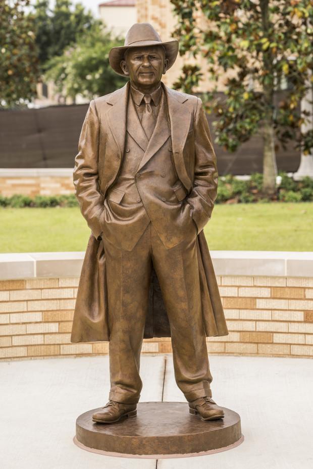 The Parrish Sculptures at TCU