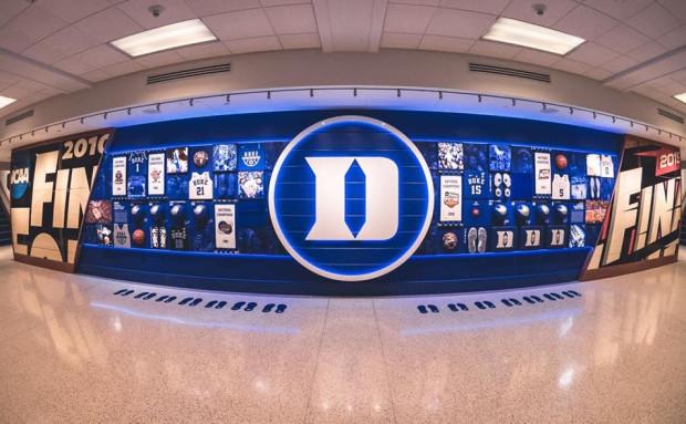Project Duke Basketball Cameron Crazies Wall Codaworx