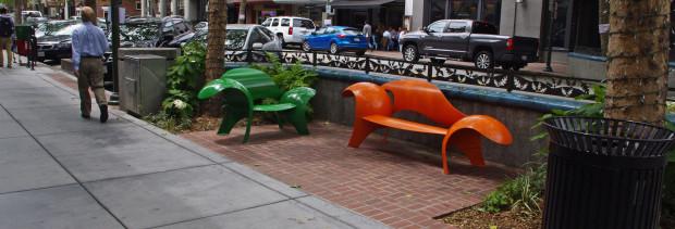 Palo Alto University Ave. Streetscape