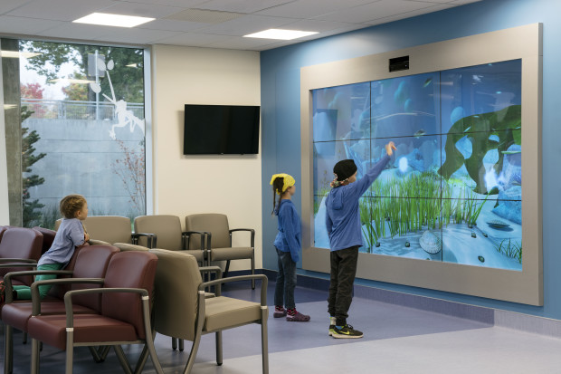 British Columbia Children's Hospital Virtual Aquarium